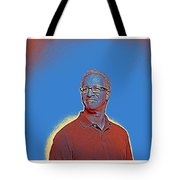 Portrait Of A Caucasian Male Tote Bag