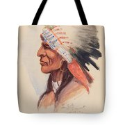 Portrait Of A Chief Tote Bag