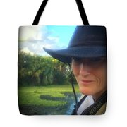 Portrait Of A Conservationist Tote Bag