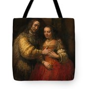Portrait Of A Couple As Figures From The Old Testament Tote Bag