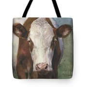 Portrait Of A Cow Iv Tote Bag