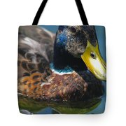 Portrait Of A Duck Tote Bag