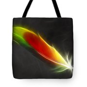Portrait Of A Feather Tote Bag