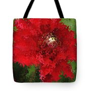 Portrait Of A Flower Tote Bag