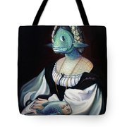 Portrait Of A Gentlefisher Tote Bag