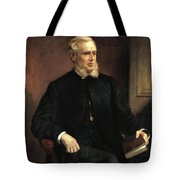 Portrait Of A Gentleman Tote Bag