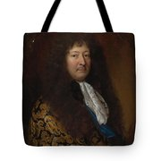 Portrait Of A Gentleman Tote Bag