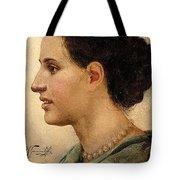 Portrait Of A Girl Henryk Semiradsky Tote Bag