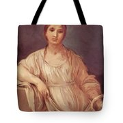 Portrait Of A Girl With Crown 1642 Tote Bag