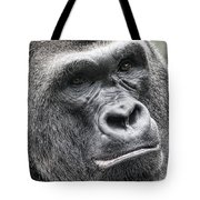 Portrait Of A Gorilla Tote Bag