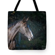 Portrait Of A Horse Tote Bag