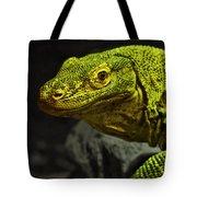 Portrait Of A Komodo Dragon Tote Bag
