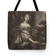 Portrait Of A Lady Beside A Rose Bush Tote Bag