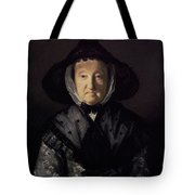 Portrait Of A Lady, Possibly Mrs. Pigott Of Chetwynd Tote Bag