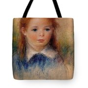 Portrait Of A Little Girl Tote Bag