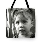 Portrait Of My Little Neighbor Tote Bag
