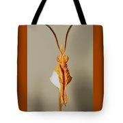 Portrait Of A Living Instrument Tote Bag