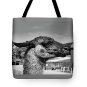 Portrait Of A Llama Mafia Leader Tote Bag