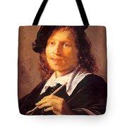 Portrait Of A Man 1640 Tote Bag