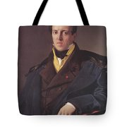 Portrait Of A Man Tote Bag