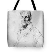 Portrait Of A Man Possible Edma Bochet Tote Bag