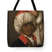 Portrait Of A Man Wearing A Turban Tote Bag