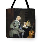 Portrait Of A Member Of The Van Der Mersch Family, 1736 Tote Bag