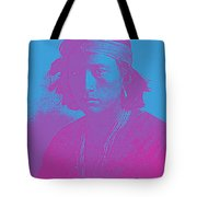 Portrait Of A Navajo Youth 4 Tote Bag