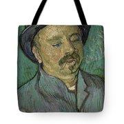 Portrait Of A One Eyed Man Saint Remy De Provence  Autumn 1889 Vincent Van Gogh 1853  1890 Tote Bag