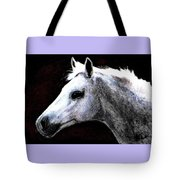 Portrait Of A Pale Horse Tote Bag