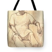 Portrait Of A Parasi Lady Tote Bag