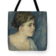 Portrait Of A Prostitute Antwerp December 1885 Vincent Van Gogh 1853  1890 Tote Bag