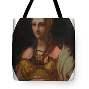 Portrait Of A Richly Dressed Lady Tote Bag