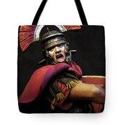 Portrait Of A Roman Legionary - 11 Tote Bag