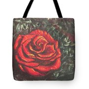 Portrait Of A Rose 4 Tote Bag