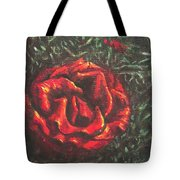 Portrait Of A Rose 6 Tote Bag
