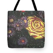 Portrait Of A Rose 7 Tote Bag