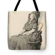 Portrait Of A Seated Woman Tote Bag