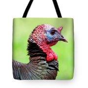 Portrait Of A Tom Turkey Tote Bag