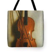 Portrait Of A Violin Tote Bag