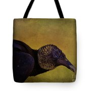 Portrait Of A Vulture Tote Bag
