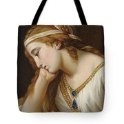 Portrait Of A Woman As An Allegorical Figure Tote Bag