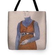 Portrait Of A Woman Late Xix - Early Xx Century Kuzma Sergeevich Petrov-vodkin Tote Bag