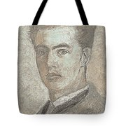 Portrait Of A Young Artist 3 Tote Bag
