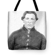Portrait Of A Young  Civil War Soldier 4 Tote Bag