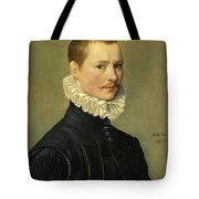Portrait Of A Young Gentleman Head And Shoulders At The Age Of 23 Tote Bag