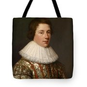 Portrait Of A Young Gentleman Tote Bag