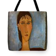 Portrait Of A Young Girl 1910 Tote Bag
