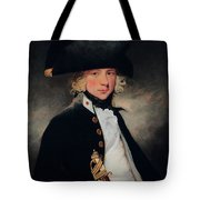 Portrait Of A Young Midshipman Sir Henry William Beechey Tote Bag