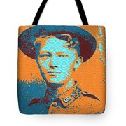 Portrait Of A Young  Wwi Soldier 4 Tote Bag